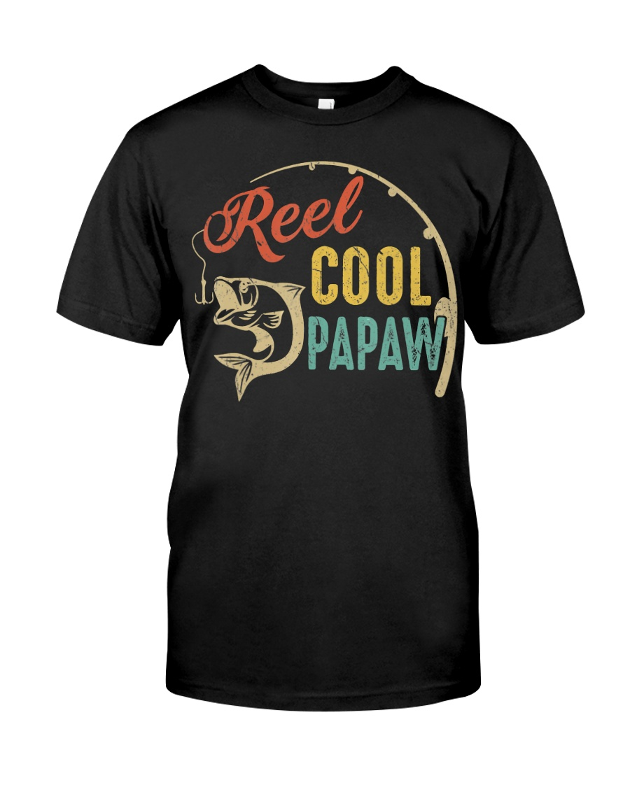 Mens Father's Day Gifts Shirt Vintage Fishing Classic T-Shirt