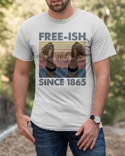 Freeish Since 1865 Classic T-Shirt apparel-classic-tshirt-lifestyle-front-53