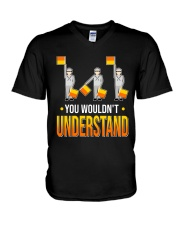 You wouldn't Understand V-Neck T-Shirt thumbnail