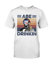 US Beer Abe Drinkin Classic T-Shirt front