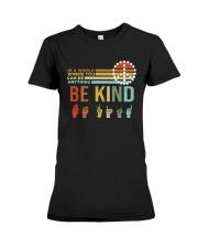 Be Kind Premium Fit Ladies Tee thumbnail