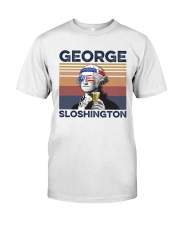 US Beer George Sloshington Classic T-Shirt front