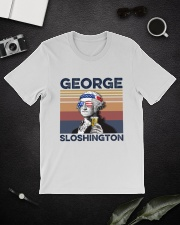 US Beer George Sloshington Classic T-Shirt lifestyle-mens-crewneck-front-16