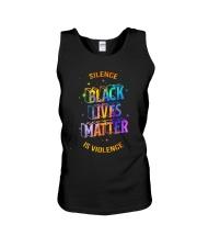 Black Lives Matter -  Silence Is Violence Unisex Tank thumbnail