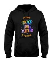 Black Lives Matter -  Silence Is Violence Hooded Sweatshirt thumbnail