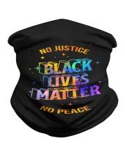 No Justice BLM No Peace Neck Gaiter thumbnail