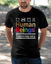 Human Beings  Classic T-Shirt apparel-classic-tshirt-lifestyle-front-50