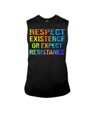 Respect Existence or Expect Resistance Sleeveless Tee thumbnail