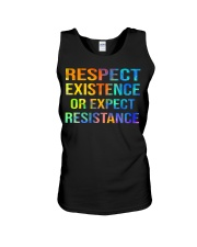 Respect Existence or Expect Resistance Unisex Tank thumbnail