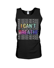 I Can't Breathe - No Justice No Peace Unisex Tank thumbnail