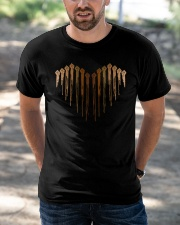 Heart Melanin Classic T-Shirt apparel-classic-tshirt-lifestyle-front-50
