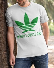 Azizas World's Dopest Dad Classic T-Shirt apparel-classic-tshirt-lifestyle-front-51