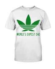 Azizas World's Dopest Dad Classic T-Shirt front