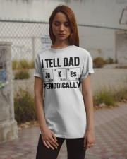 Dad Jokes  Classic T-Shirt apparel-classic-tshirt-lifestyle-18