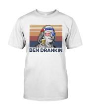 US Beer Ben Drankin Classic T-Shirt front