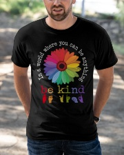 Be Kind Flower Classic T-Shirt apparel-classic-tshirt-lifestyle-front-50