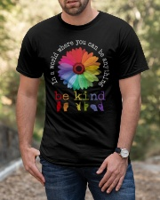 Be Kind Flower Classic T-Shirt apparel-classic-tshirt-lifestyle-front-53