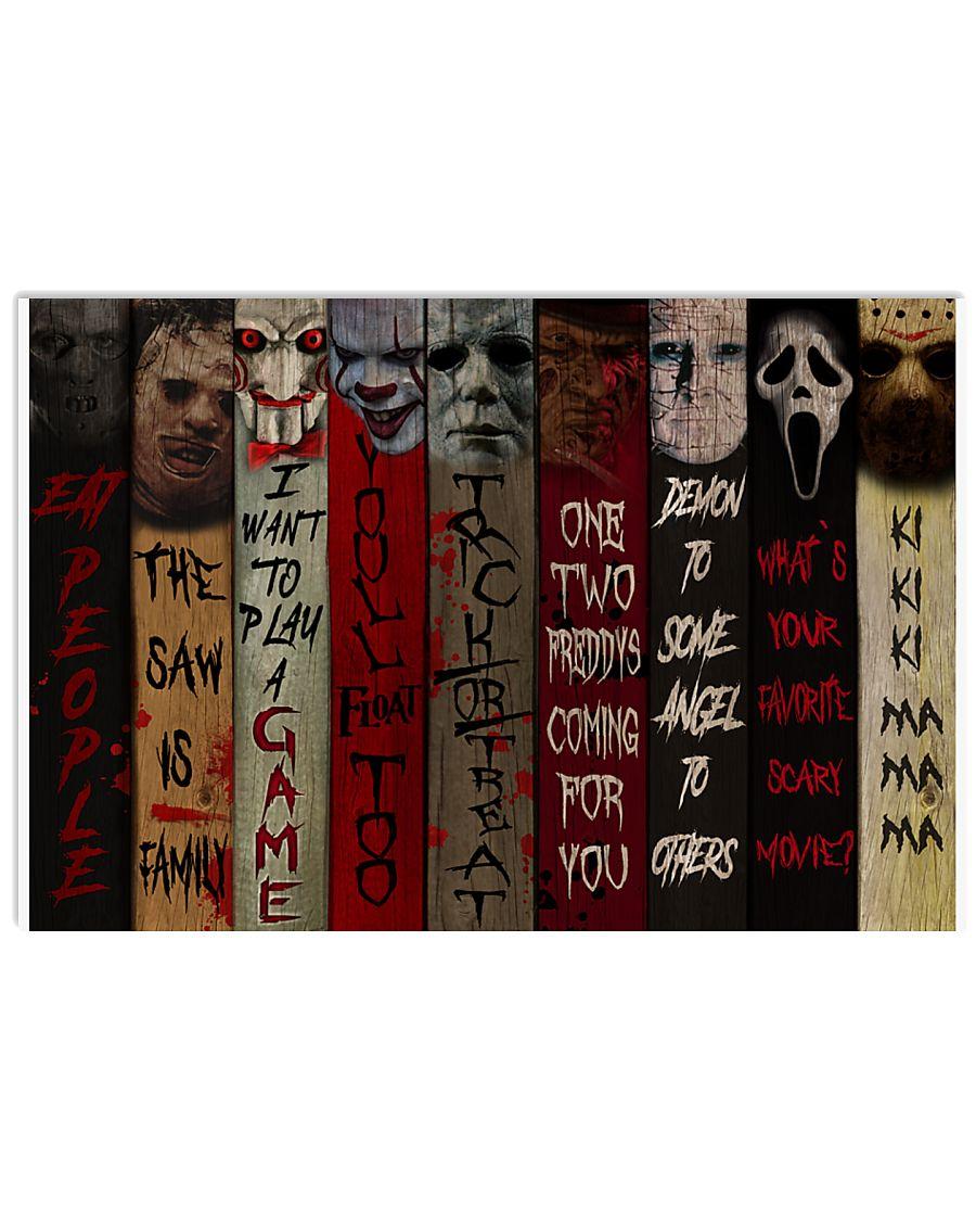 Horror 17x11 Poster