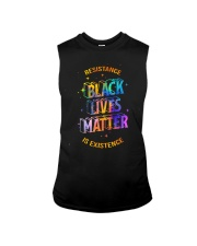 Black Lives Matter - Resistance is Existence Sleeveless Tee thumbnail