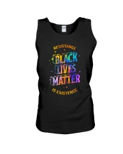 Black Lives Matter - Resistance is Existence Unisex Tank thumbnail