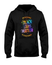 Black Lives Matter - Resistance is Existence Hooded Sweatshirt thumbnail