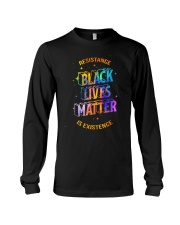 Black Lives Matter - Resistance is Existence Long Sleeve Tee thumbnail