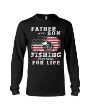 Father and Son Fishing Partners for Life American Long Sleeve Tee thumbnail