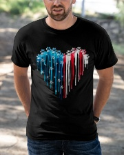 Dog 4th July Classic T-Shirt apparel-classic-tshirt-lifestyle-front-50