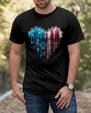 Dog 4th July Classic T-Shirt apparel-classic-tshirt-lifestyle-front-53