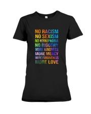 No Racism Premium Fit Ladies Tee thumbnail