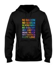 No Racism Hooded Sweatshirt thumbnail