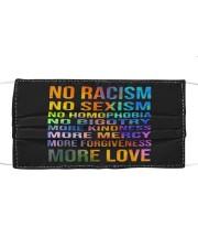 No Racism Cloth face mask thumbnail