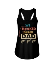 We Hooked The Best Dad Ladies Flowy Tank thumbnail