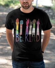 Be Kind Color Classic T-Shirt apparel-classic-tshirt-lifestyle-front-50