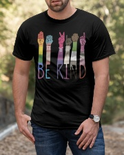 Be Kind Color Classic T-Shirt apparel-classic-tshirt-lifestyle-front-53