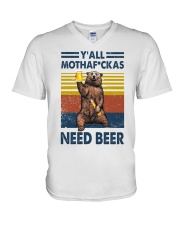 We need beer V-Neck T-Shirt thumbnail
