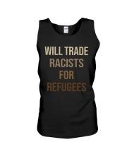 Will Trade Racists Unisex Tank thumbnail