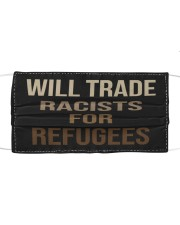 Will Trade Racists Cloth face mask thumbnail