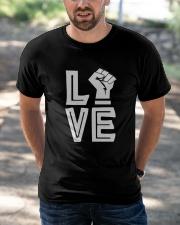 Love Black Classic T-Shirt apparel-classic-tshirt-lifestyle-front-50