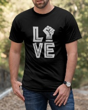 Love Black Classic T-Shirt apparel-classic-tshirt-lifestyle-front-53