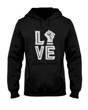 Love Black Hooded Sweatshirt thumbnail