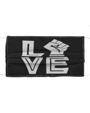 Love Black Cloth face mask thumbnail