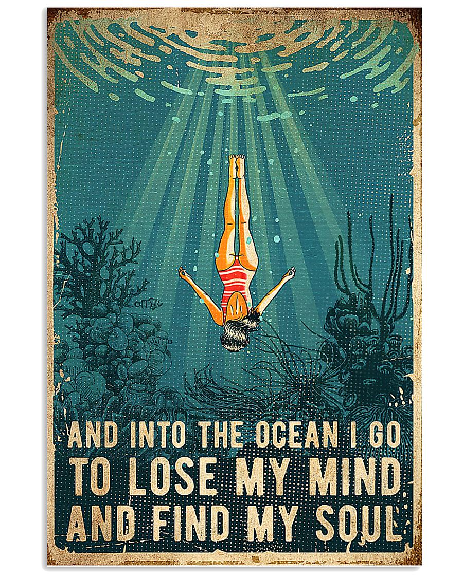 Swimming Find My Soul 11x17 Poster