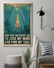 Swimming Find My Soul 11x17 Poster lifestyle-poster-1