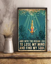 Swimming Find My Soul 11x17 Poster lifestyle-poster-3