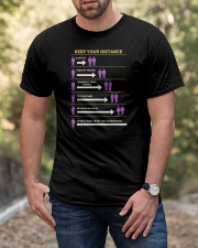 Keep Your Distance Classic T-Shirt apparel-classic-tshirt-lifestyle-front-53
