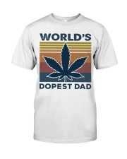 World's Dopest Dad Classic T-Shirt front