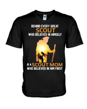 Scout Mom V-Neck T-Shirt thumbnail