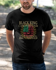 Black King Classic T-Shirt apparel-classic-tshirt-lifestyle-front-50