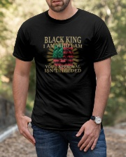 Black King Classic T-Shirt apparel-classic-tshirt-lifestyle-front-53